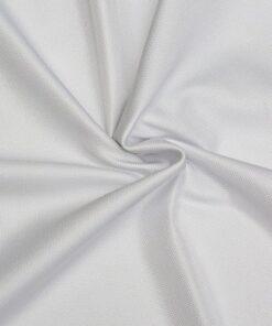 Marion gordijn 100% lichtdicht met plooiband Wit stofdetail
