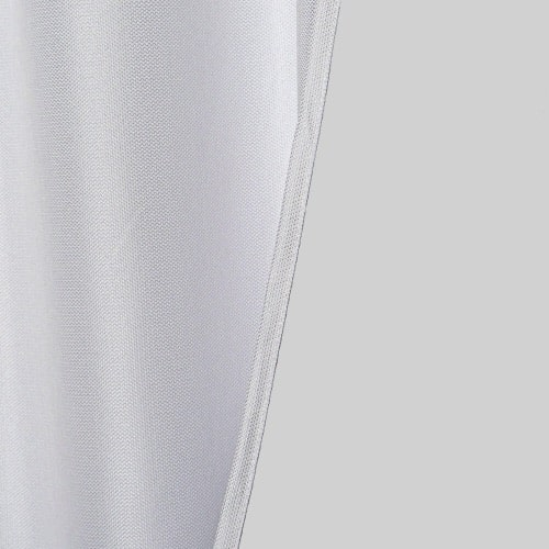 Marion gordijn 100% lichtdicht met plooiband Wit stofdetail achterkant